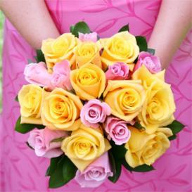 Colorful Bridemaids Bouquets Maui