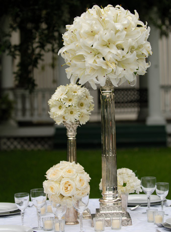 Emejing Lily Centerpieces For Weddings Gallery - Styles & Ideas 2018 ...