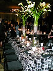 Calla Lily Wedding Table Centerpieces - Unique Wedding Ideas