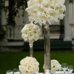 Oriental lilies centerpiece Perla farms delivers oriental lilies nationwide for your wedding.